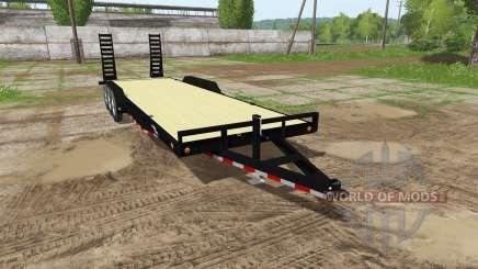 Platform trailer for Farming Simulator 2017