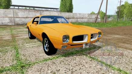 Pontiac Firebird 1970 for Farming Simulator 2017