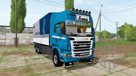 Scania R730 tandem v1.2 for Farming Simulator 2017