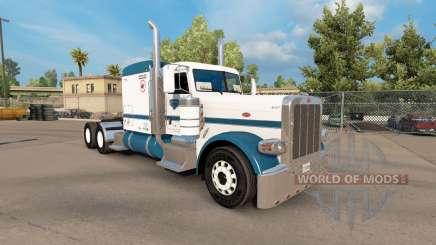 Скин Uncle D Logistics v1.1 на Peterbilt 389 for American Truck Simulator