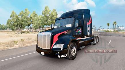 Skin M. and.A Trucking on the truck Peterbilt 579 for American Truck Simulator