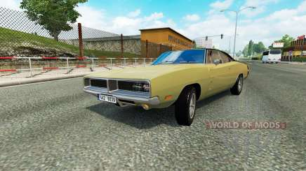 Cars Test Drive Unlimited 2 in traffic v1.2 for Euro Truck Simulator 2