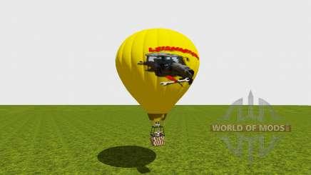 Hot air balloon for Farming Simulator 2015