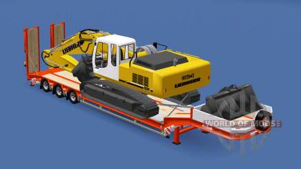 Semitrailer Liebherr R 934 v1.1 for Euro Truck Simulator 2