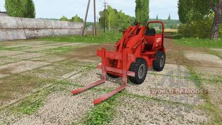 Weidemann 1502DR v2.1 for Farming Simulator 2017