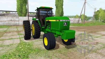 John Deere 4560 for Farming Simulator 2017