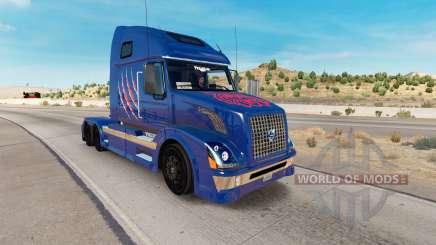 Arizona Wildcats skin for Volvo truck VNL 670 for American Truck Simulator