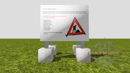 Set construction sites v1.1 for Farming Simulator 2015