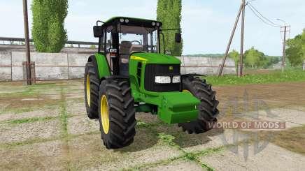John Deere 6330 v2.0 for Farming Simulator 2017