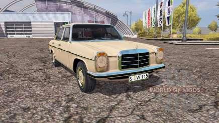 Mercedes Benz 200D (W115) for Farming Simulator 2013