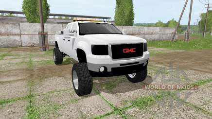 GMC Sierra 2500 2011 for Farming Simulator 2017