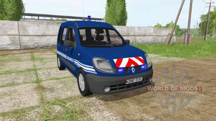 Renault Kangoo Gendarmerie for Farming Simulator 2017
