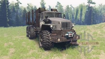 Ural 4320-10 Tungus v3.1 for Spin Tires