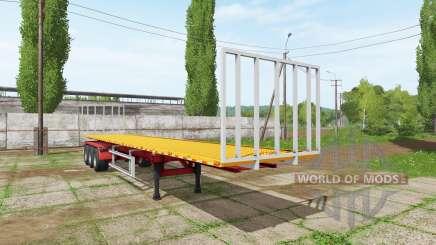 BsM bale semitrailer for Farming Simulator 2017