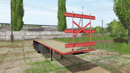 Bale semitrailer for Farming Simulator 2017