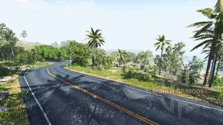 Dry rock island for BeamNG Drive
