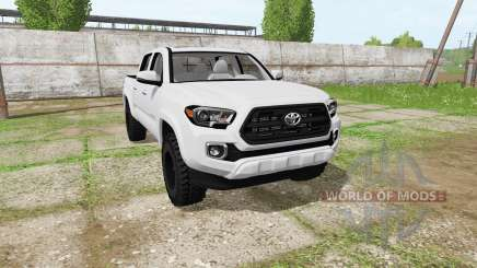 Toyota Tacoma Double Cab 2016 for Farming Simulator 2017