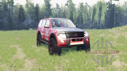 Mitsubishi Montero for Spin Tires