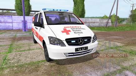 Mercedes-Benz Viano NEF v1.2 for Farming Simulator 2017