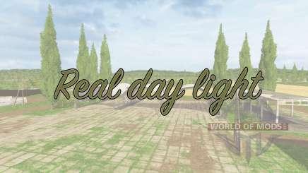 Real day light v1.1 for Farming Simulator 2017