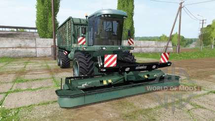 Krone BiG L 500 Camo v1.0.0.1 for Farming Simulator 2017