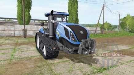New Holland T7.315 TerraTrac v1.15 for Farming Simulator 2017