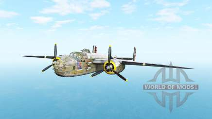 North American B-25 Mitchell v5.3.1 for BeamNG Drive