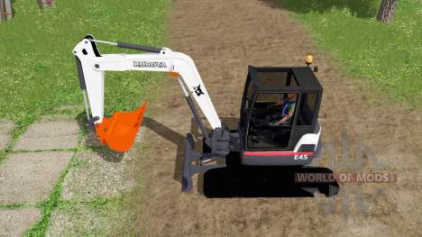 Bobcat E45 v2.0 for Farming Simulator 2017