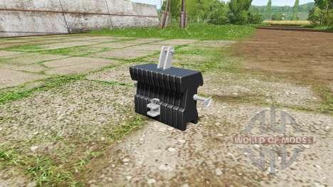 Weight for Farming Simulator 2017