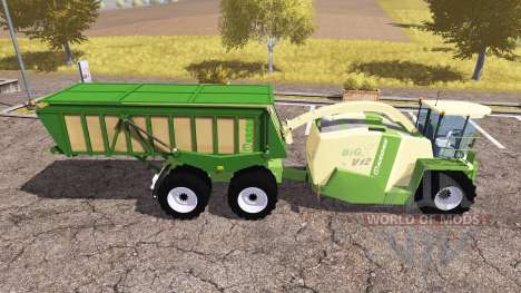 Krone BiG X 1100 cargo for Farming Simulator 2013
