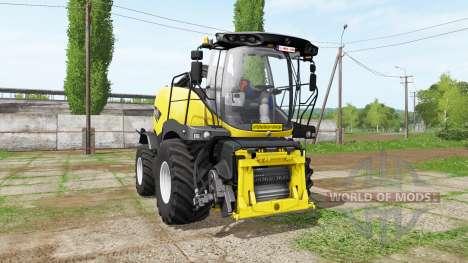 New Holland FR850 manual pipe for Farming Simulator 2017