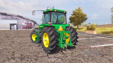 John Deere 8400 v2.0 for Farming Simulator 2013