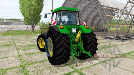 John Deere 7710 for Farming Simulator 2017