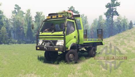 Hino Dutro 130 HD for Spin Tires