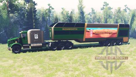 Kenworth T800 RS Titan for Spin Tires
