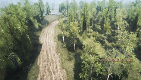 Forest for Spintires MudRunner