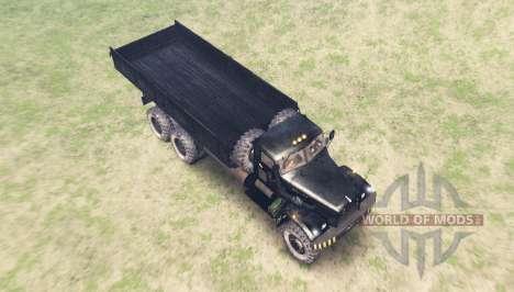 KrAZ 257 for Spin Tires