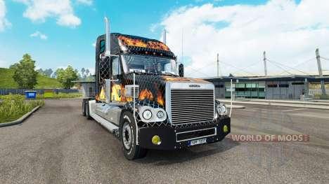 Freightliner Coronado v2.1 for Euro Truck Simulator 2