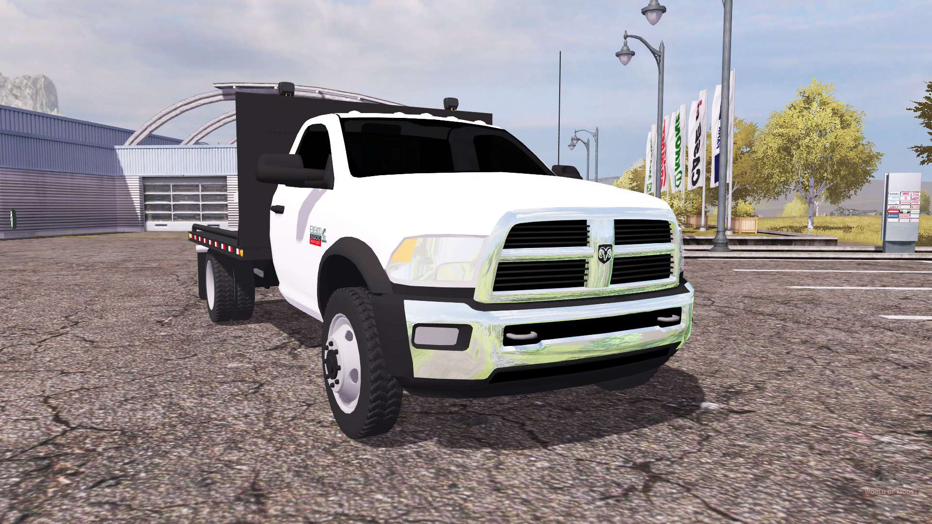 Dodge ram 5500 heavy duty flatbead for farming simulator 2013 for 5500 3