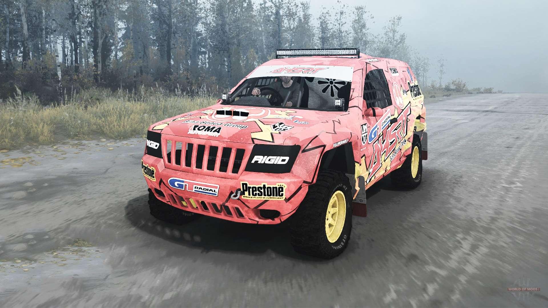 Jeep Grand Cherokee Wj Superwolf V1 04 For Mudrunner