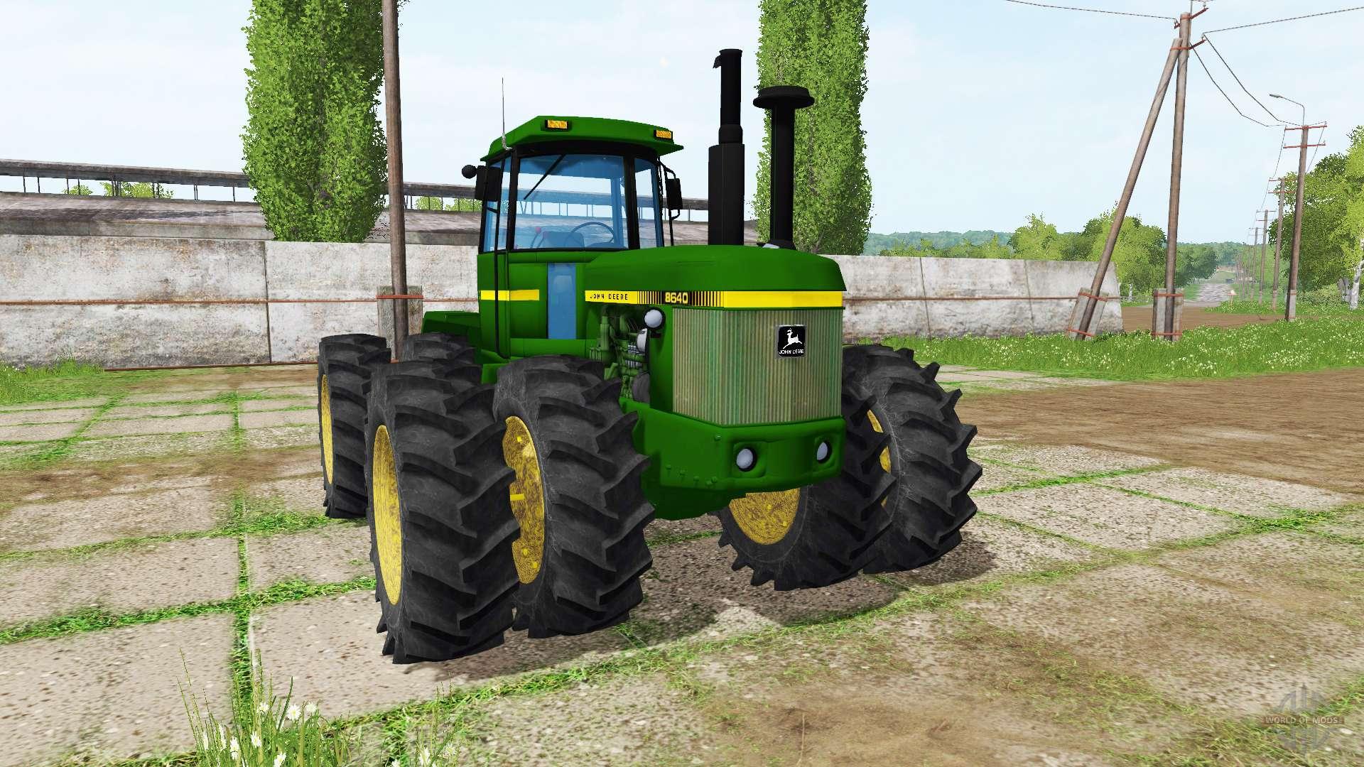 john deere 8640 v20 for farming simulator 2017
