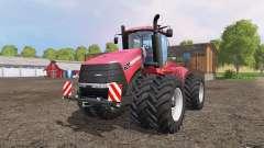 Case IH Steiger 620 twin wheels for Farming Simulator 2015
