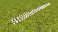 A collection of railway tracks