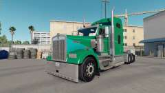 Skin Green Clay on the truck Kenworth W900