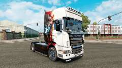 Skin Iron man for tractor Scania R-series
