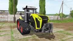CLAAS Xerion 4000 TerraTrac v1.1 for Farming Simulator 2017