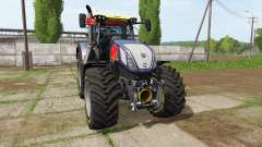 New Holland T7.315 Red Rikie for Farming Simulator 2017