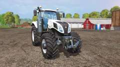 New Holland T8.435 white for Farming Simulator 2015