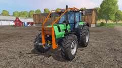 Deutz-Fahr AgroStar 6.61 forest for Farming Simulator 2015