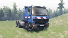 Mercedes-Benz Actros 2646 for Spin Tires